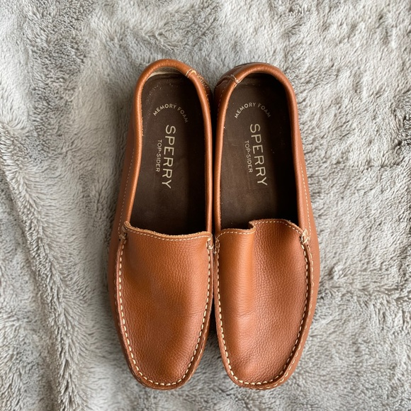 Sperry Wave Driver Venetian Tan Sts1989
